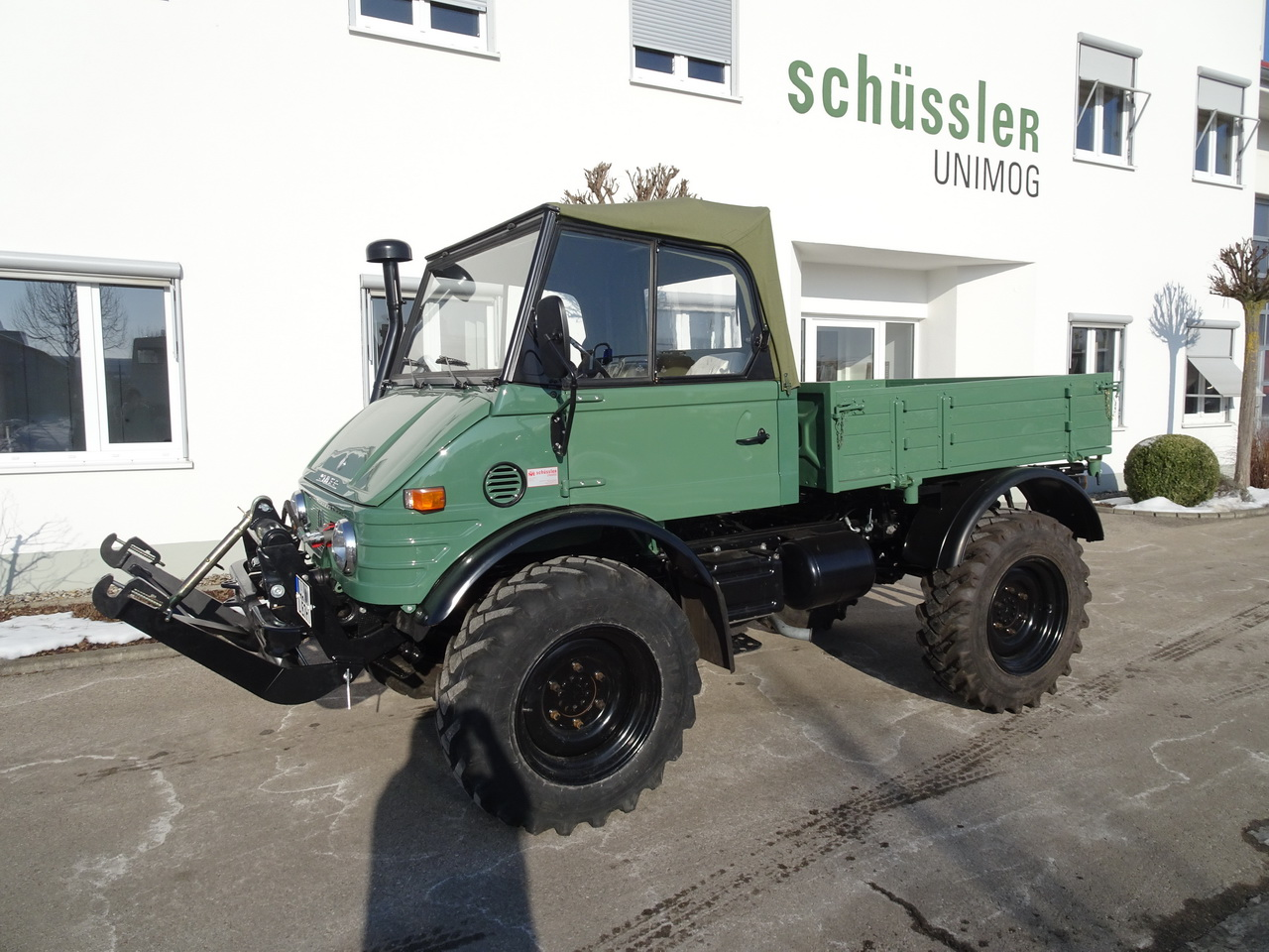 Trailers And Hitches >> Unimog 421 – Schüssler Unimog